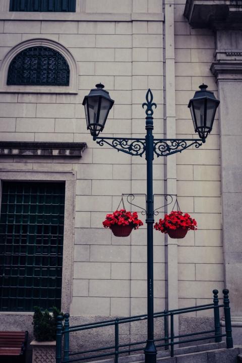 マカオ 街灯