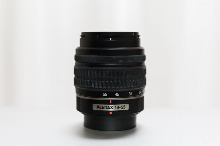 キットレンズ 焦点距離を50mmにセット