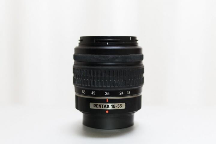 キットレンズ 焦点距離 35mmにセット