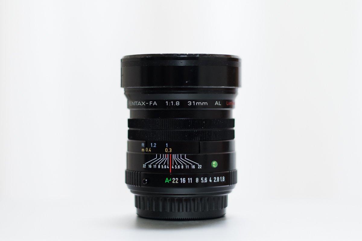 単焦点レンズ PENTAX FA31mm F1.8AL Limited