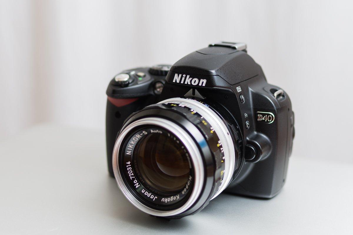 NikonD40外観