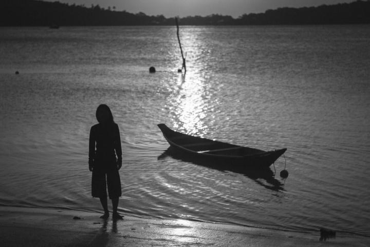 早朝のチャウエンビーチ